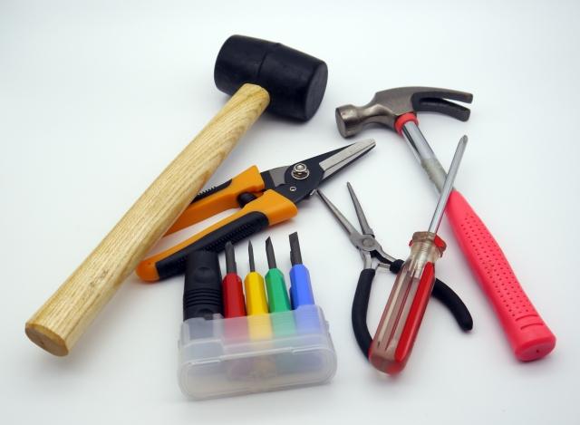 DIY等に使う手持ち道具