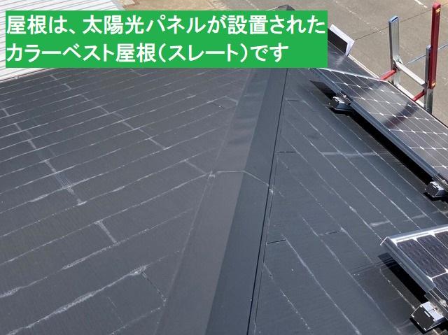鹿嶋市で棟板金の釘浮きを打ち込みましたがビスでの再打ちが必要