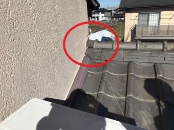 1階の棟部分を遠目から撮影