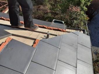 固定強化が求められる屋根材は粘土瓦