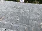 日立市の厚型スレート瓦がずれている南屋根面