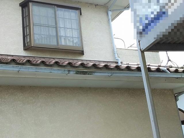 雨樋補修・交換工事の現場調査