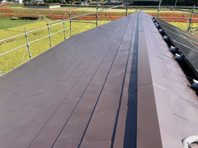 劣化スレート屋根カバー工法