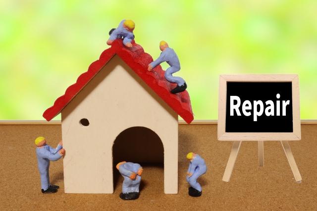 家を修理するイメージ