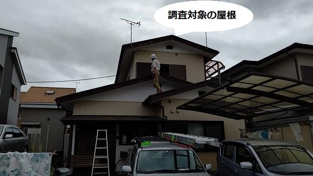 ひたちなか市の調査対象の屋根
