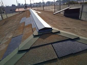 屋根補修を行った水戸市のコロニアル屋根