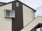 屋根点検の依頼のあった水戸市内のアパート風景