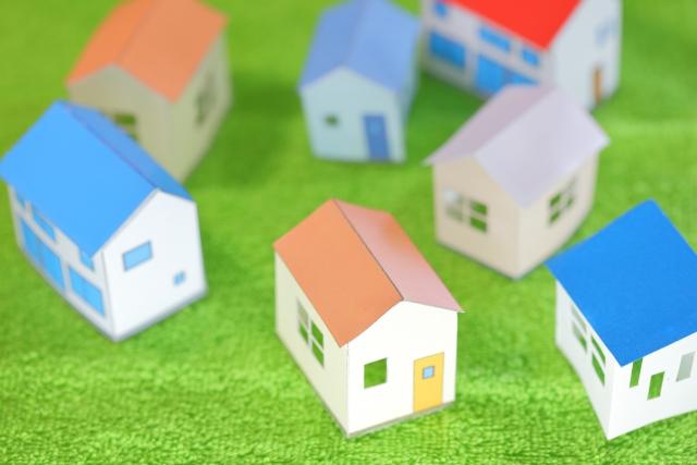 家を連想する暖かいイメージの画像