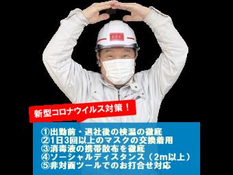 慶野コロナウイルス対策