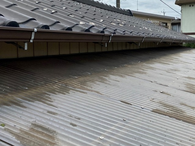 ひたちなか市で新しく交換したシビルスケア雨樋