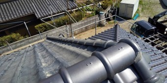 龍ヶ崎市の現場で施工が完成した風切丸