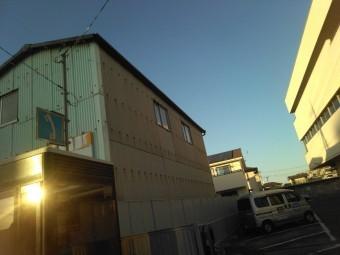 倉庫雨樋1