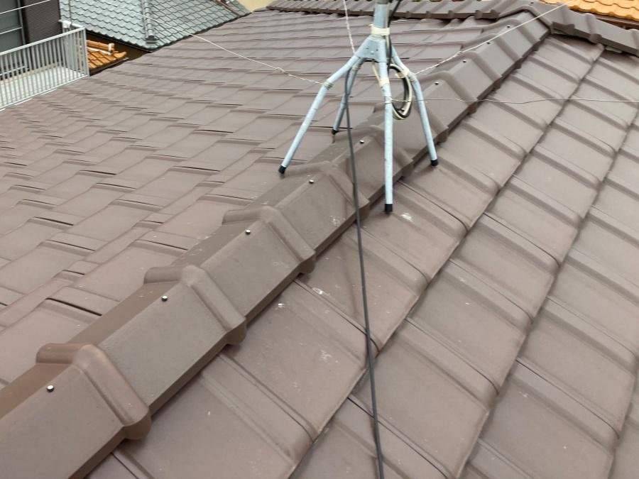 棟取り直し工事前の屋根画像