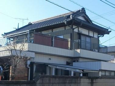 雨漏り補修を行った水戸市の日本家屋