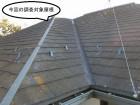 調査対象となる下妻市のコロニアル屋根の様子
