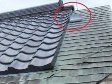 屋根被害2