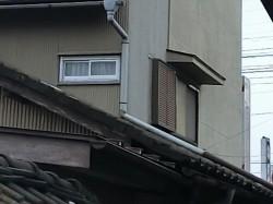 下妻市のY様邸の施工前の雨樋