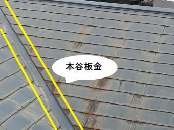 築26年目の複合屋根の本谷板金