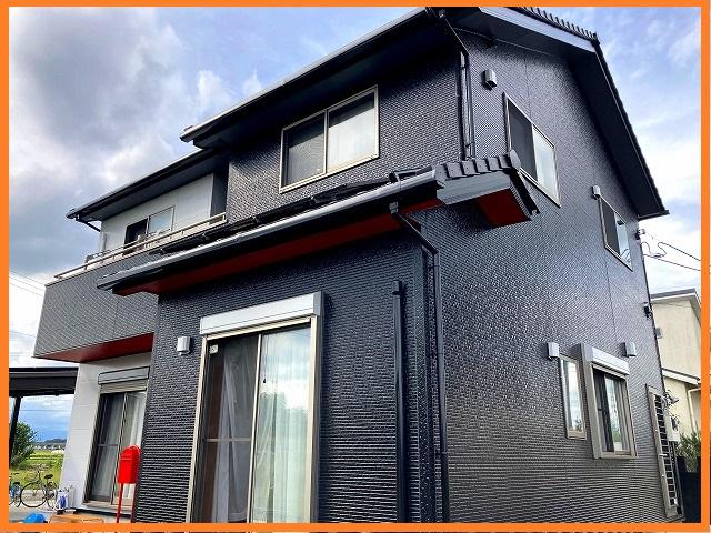 茨城近郊で行われた外壁塗装工事