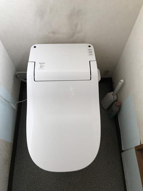 新しく施工したタンクレストイレアラウーノ