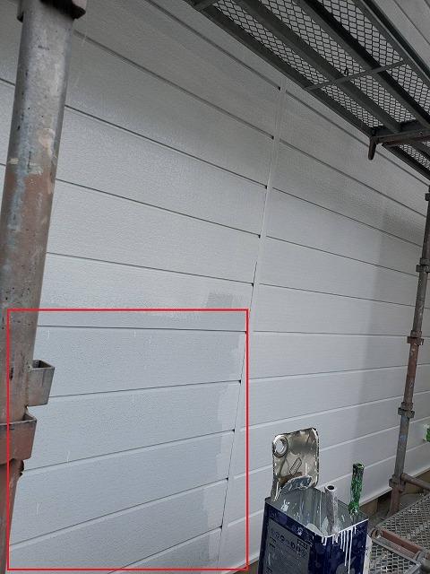 下塗り塗装工程