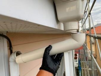 呼び樋は長さをしっかり測り外れ防止する