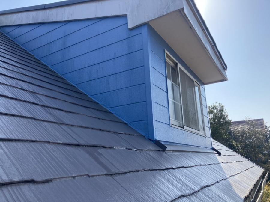 工事前の太陽光設置スレート屋根