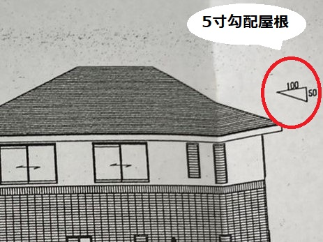 那珂市のお客様宅の立面図