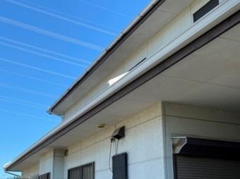 雨樋補修工事新しい雨樋設置