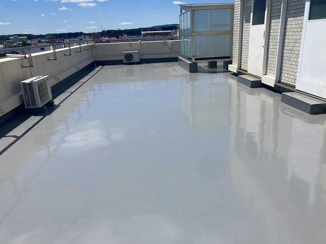 サラセーヌで仕上げた屋上防水工事