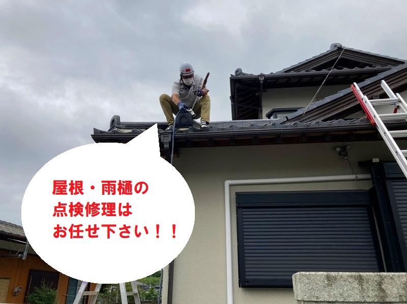 水戸市の屋根・雨樋の無料点検はお任せ下さい