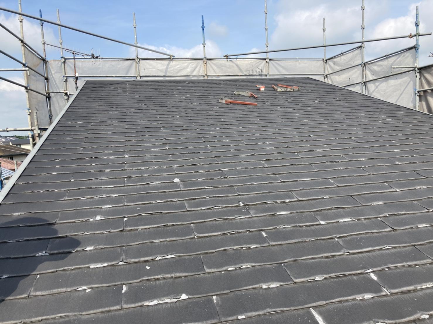 水戸市の屋根のビフォー
