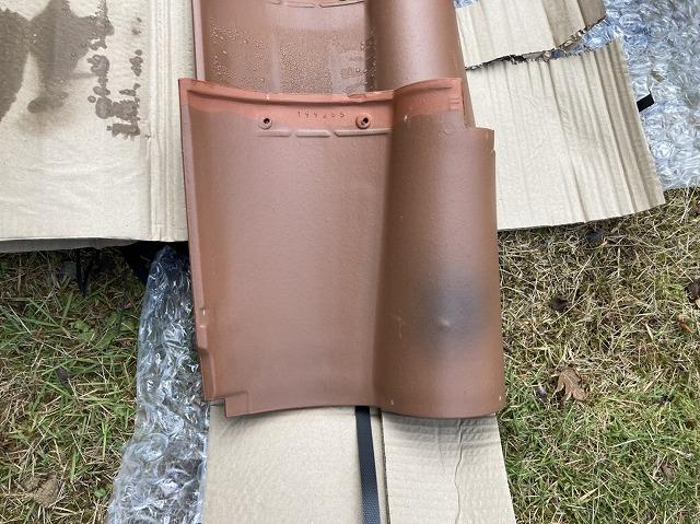 東海村で使用する代替品瓦
