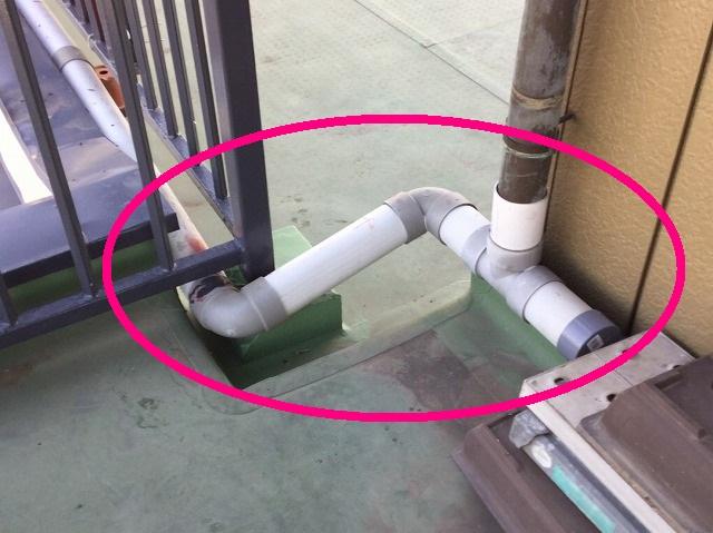 這い樋の補修完了