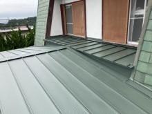 MSタフビームで屋根葺き替え工事が完了した画像