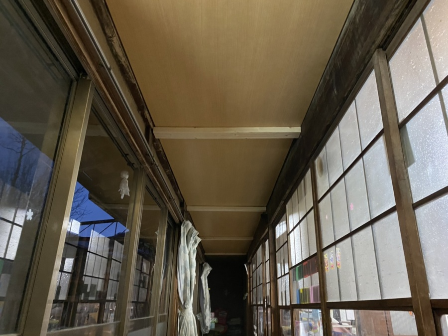 天井を一新した、ひたちなか市の現場