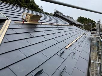 ガルバリウム銅板屋根工事