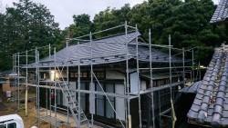 ガルバリウム鋼板葺き替え画像