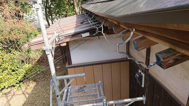 雨樋金具施工