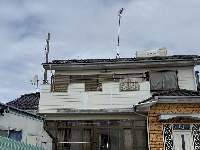 台風被害にあったU様邸