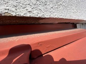 外壁の隙間