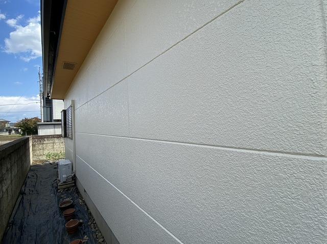 綺麗に塗り上がり生まれ変わった外壁面