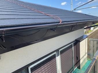 屋根葺き替え工事と外壁塗装が完了した小美玉市の現場