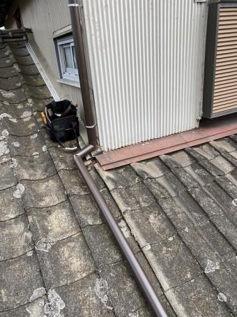アイアン105で取り直した下妻市の雨樋