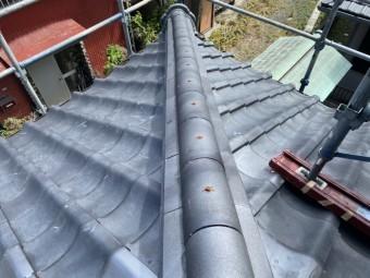 ひたちなか市で台風被害を受けた降り棟取り直しで強靱な降り棟に生まれ変わりました