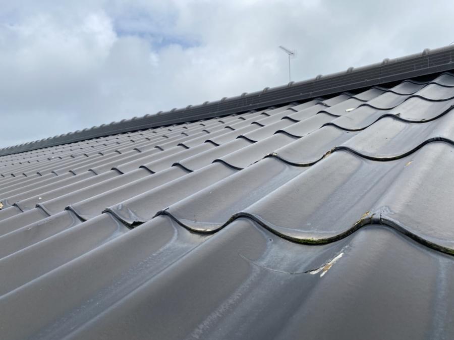 結城市内のセキスイかわらUを使用している屋根