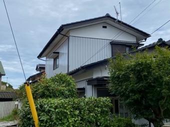 水戸市のセメント瓦二階建て家屋