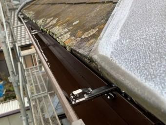 新茶の角樋に交換した結城市内の雨樋