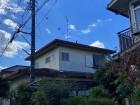 水戸市の二階建てスレート屋根