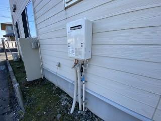 給湯器とガス設備を新設したアフター画像